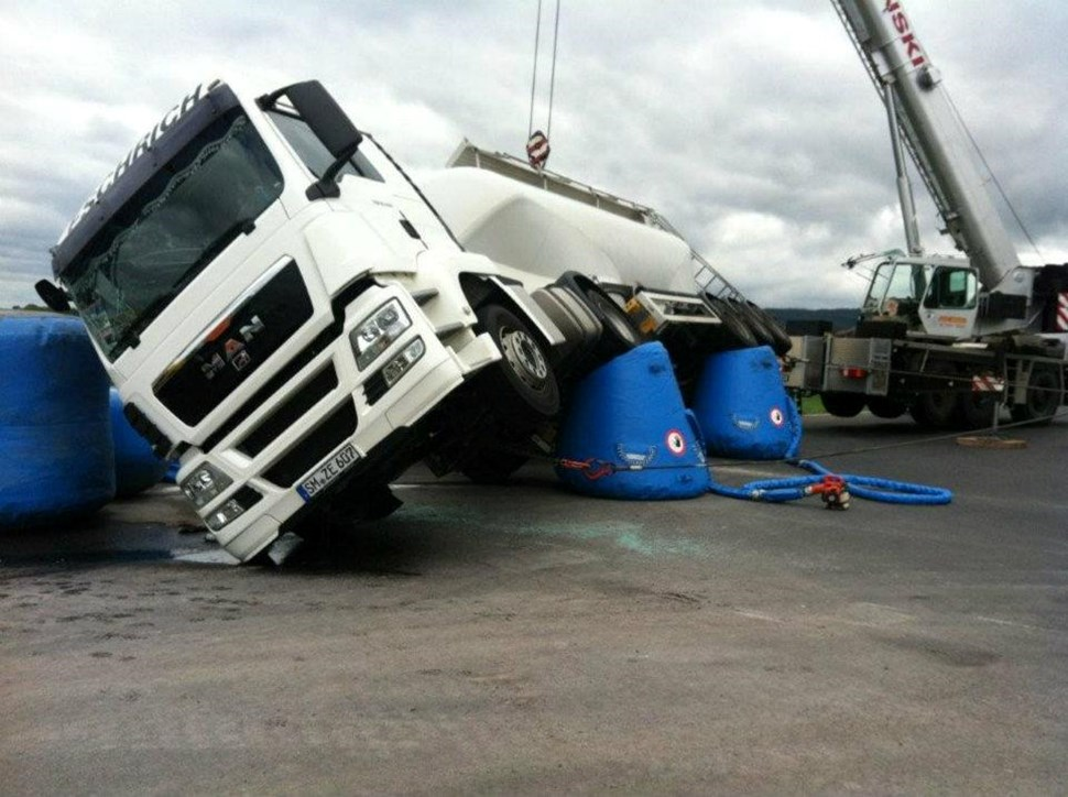 Catchbag truck recovery